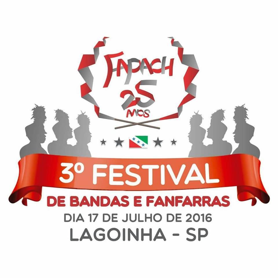 3º Festival de Bandas e Fanfarras - Fapach 25 Anos