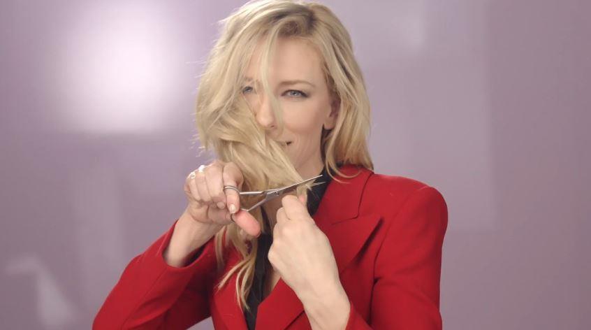 Canzone Giorgio Armani Pubblicità Si passione con l'attrice Cate Blanchett, Spot Maggio 2018
