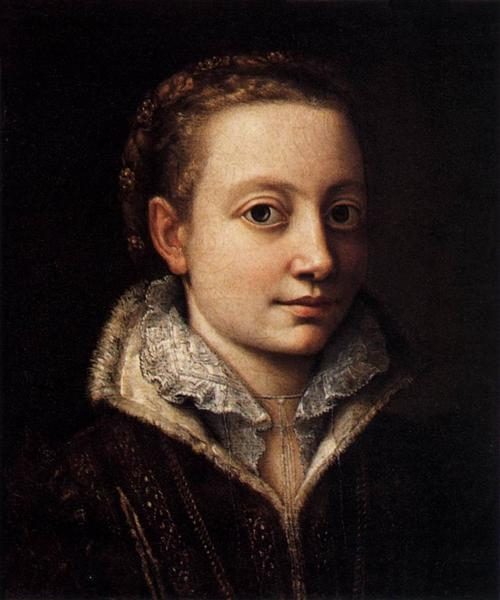 Sofonisba Anguissola  - Портрет Минерва Ангиссола
