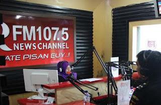 Geng Motor Keroyok Pemred Radio PRFM Bandung