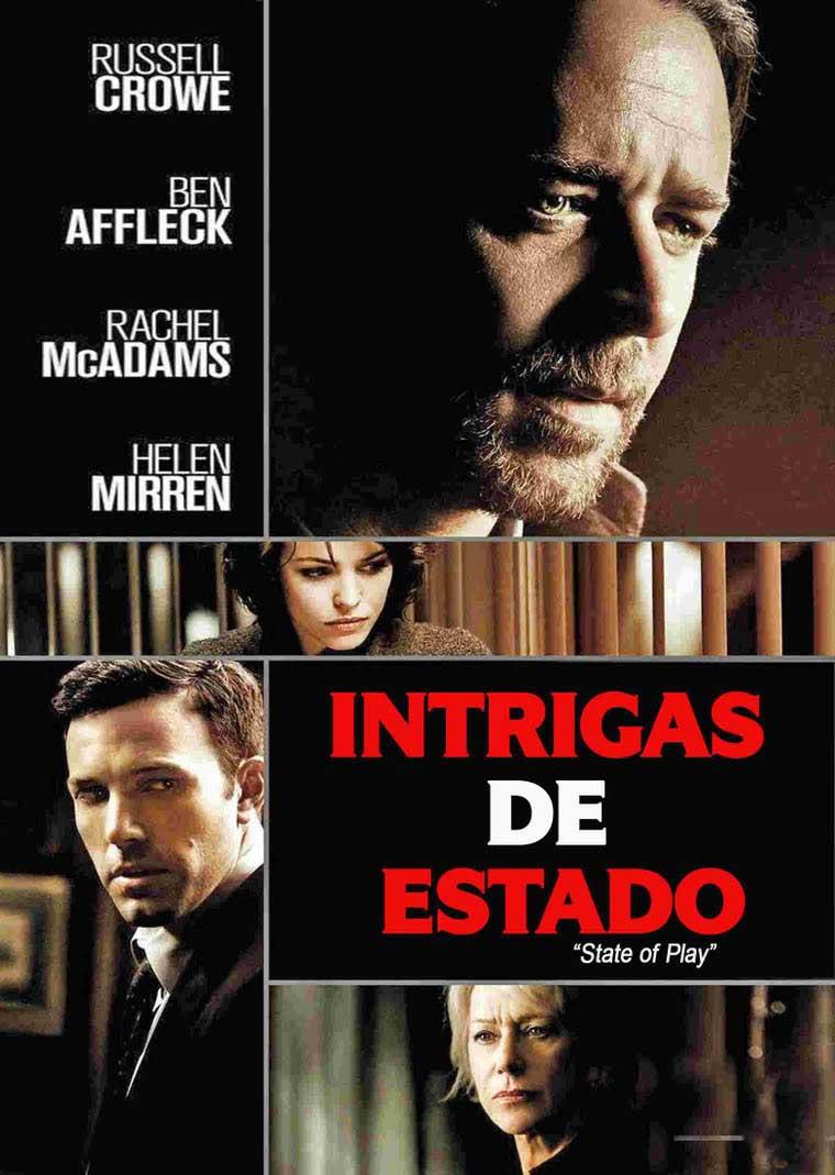 Intrigas do Estado Torrent - Blu-ray Rip 720p e 1080p Dual Áudio (2009)