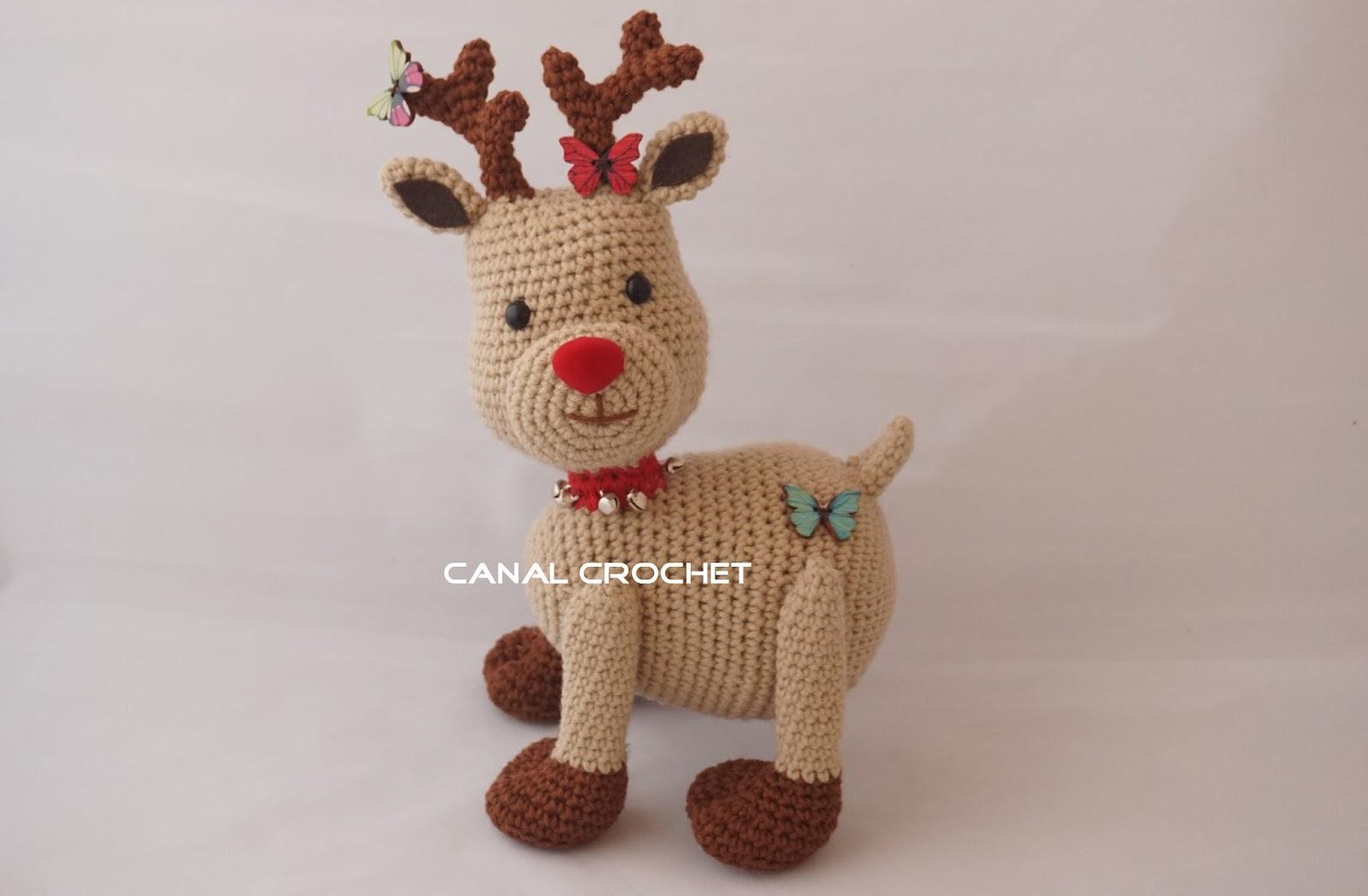 Amigurumilacion : Canal crochet: reno amigurumi tutorial