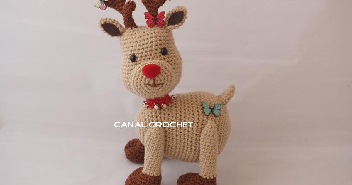 Canal Crochet Reno Amigurumi Tutorial