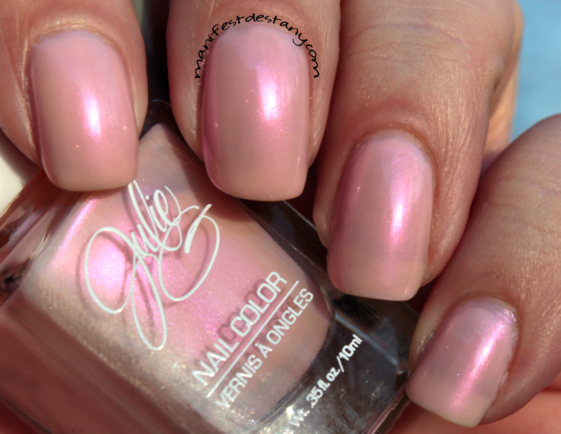 Julie G Bubble Bath and White Orchid swatches+review | Confessions ...