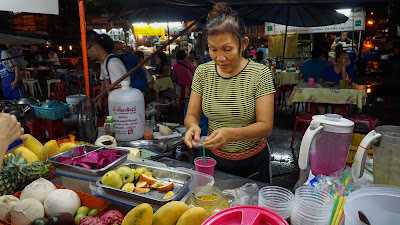 Pa Fruit Shake Stall. Possibly the best fruit shake I've tried in Chiang Mai