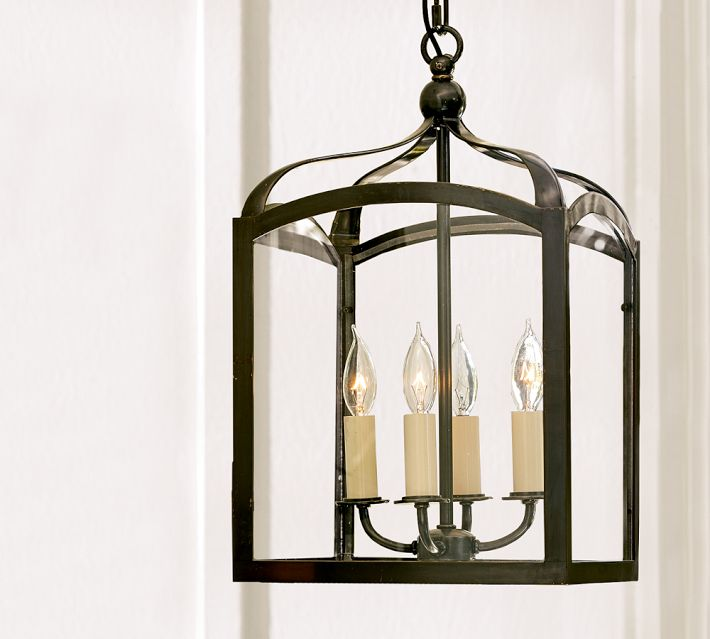 Pottery Barn Bronze Chandelier: Choosing A Hanging Lantern Pendant For The Kitchen