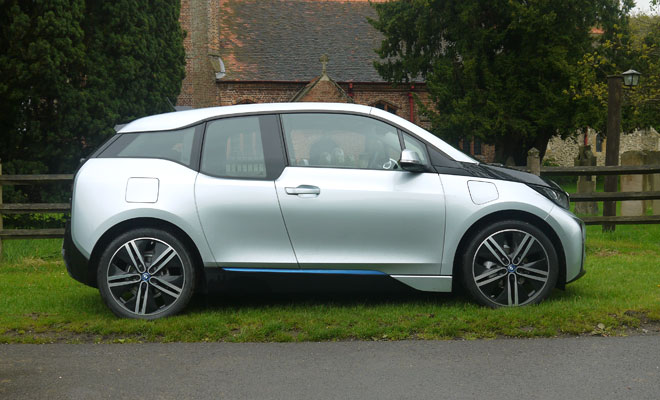 BMW i3 Rex side view