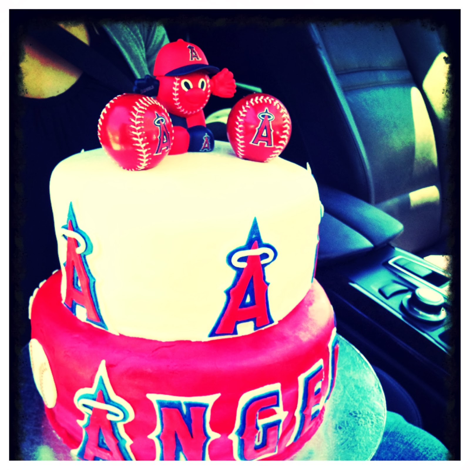 Blue Angels Birthday Cake