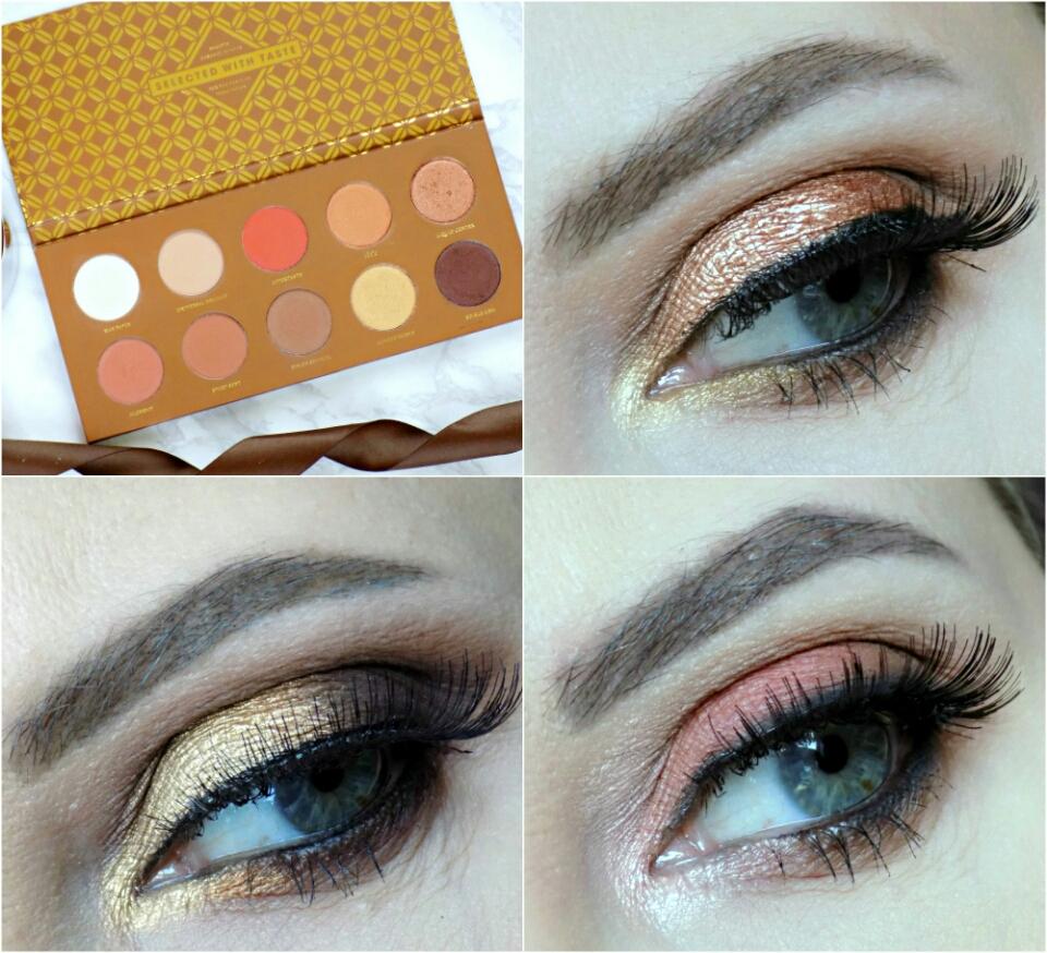 1 palette - 3 eye looks, Zoeva Caramel Melange