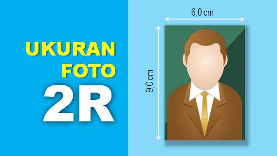 Ukuran Foto 2R dalam CM