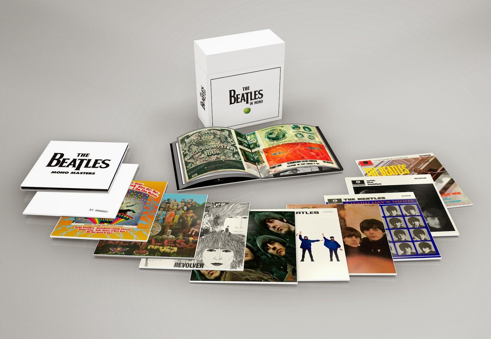 Beatles Mono Box Set All Analog Sept 9th 2014