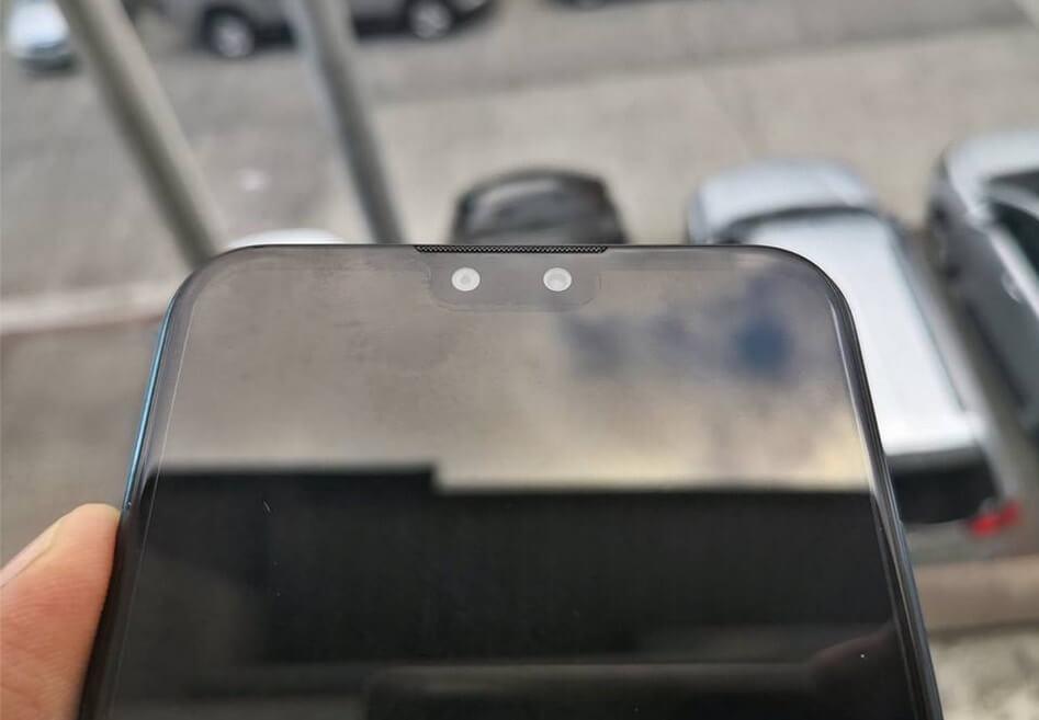Huawei Y9 2019 Notch, Earpiece, Dual Front Cameras
