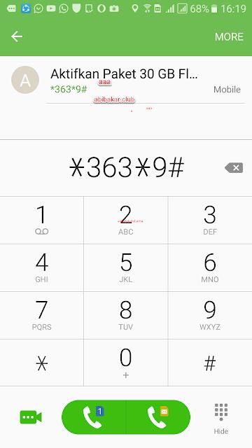 Kode Internet 30GB Telkomsel 70 Ribu