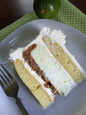 Key lime vanilla piecaken