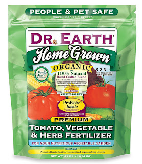 Dr. Earth Organic 5 Tomato, Vegetable and Herb Fertilizer is a superior blend of fish bone meal