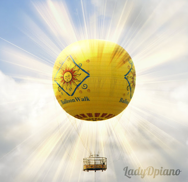 photoshop air balloon ride