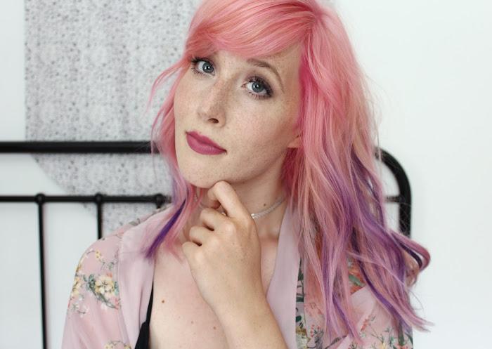 perfect pastel pink hair