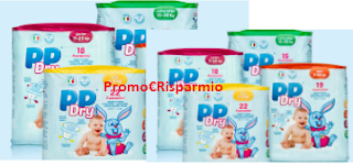 Logo ProntoPannolino: campioni omaggio Kit PPDry