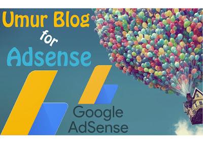 Umur Blog/Situs Supaya Bisa Diterima Adsense? - Daftar GA