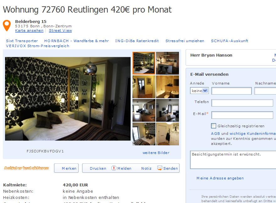 Zimmer Wohnung Bielefeld Innenstadt