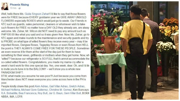 "Flower shop owner cries foul over ""wilted flowers"" story"