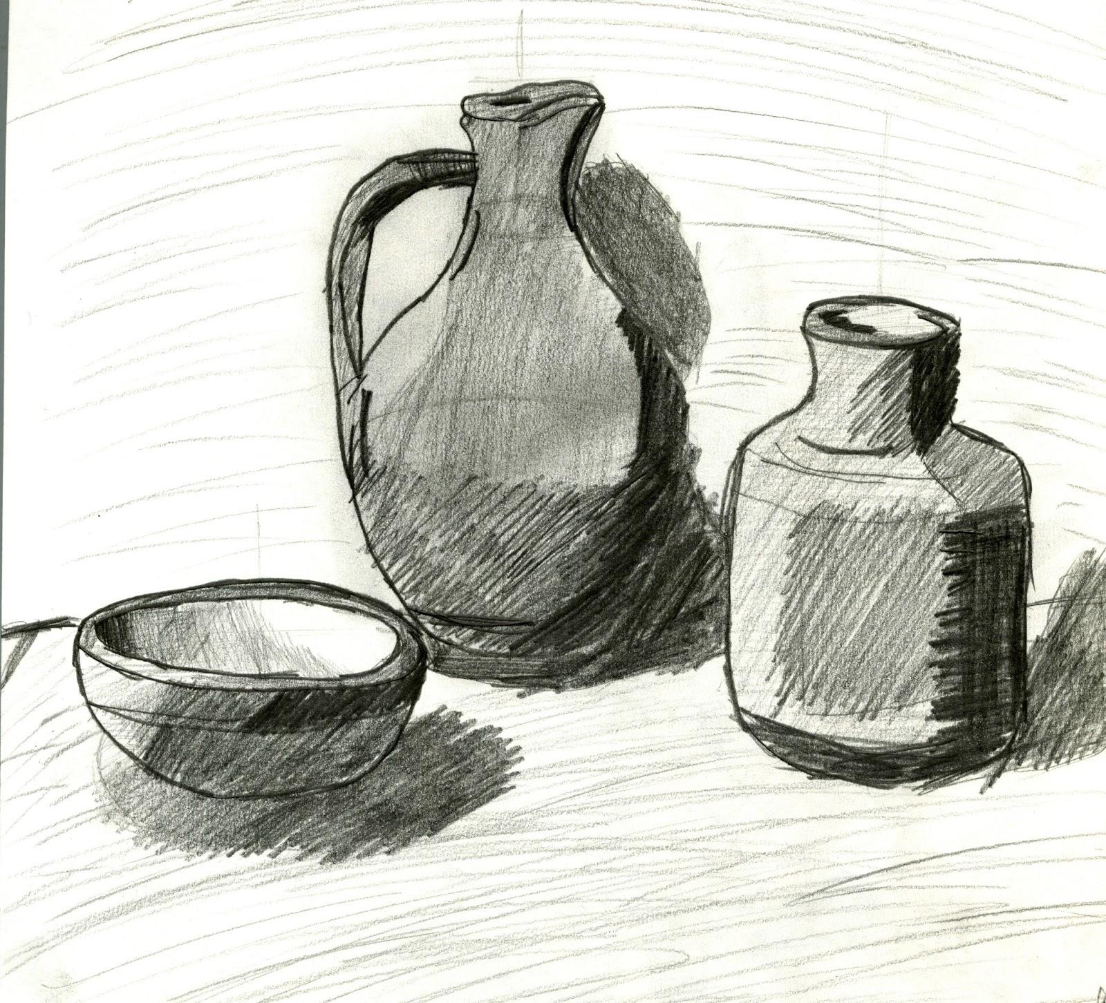 Observational Drawing 2: Still Life