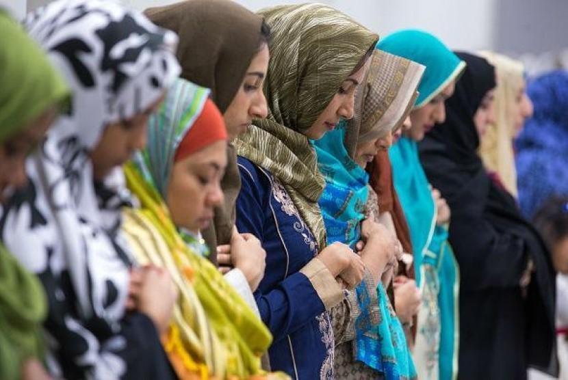 Muslimah AS Ikut Pelatihan Bela Diri