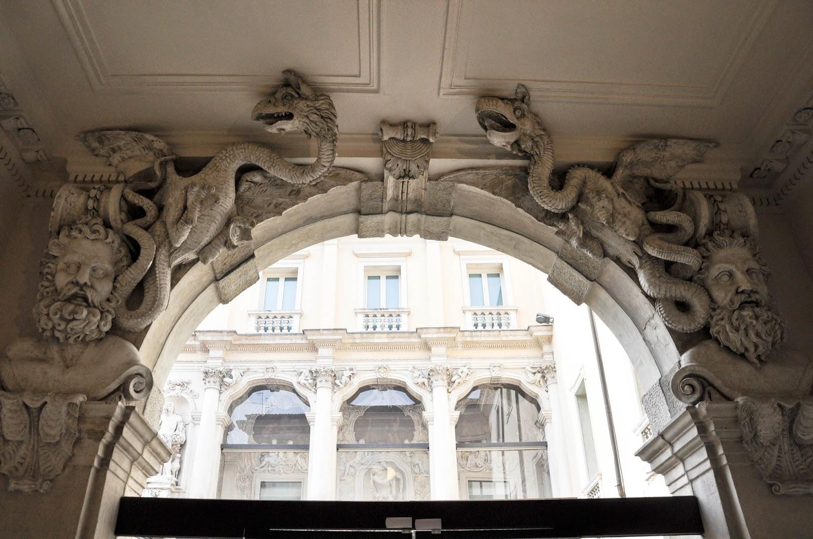 Inside Palazzo Leoni Montanari, Vicenza, Italy