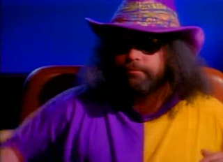 WWF / WWE Royal Rumble 1996: The Nacho Man from the WWF's 'Billionaire Ted' skits