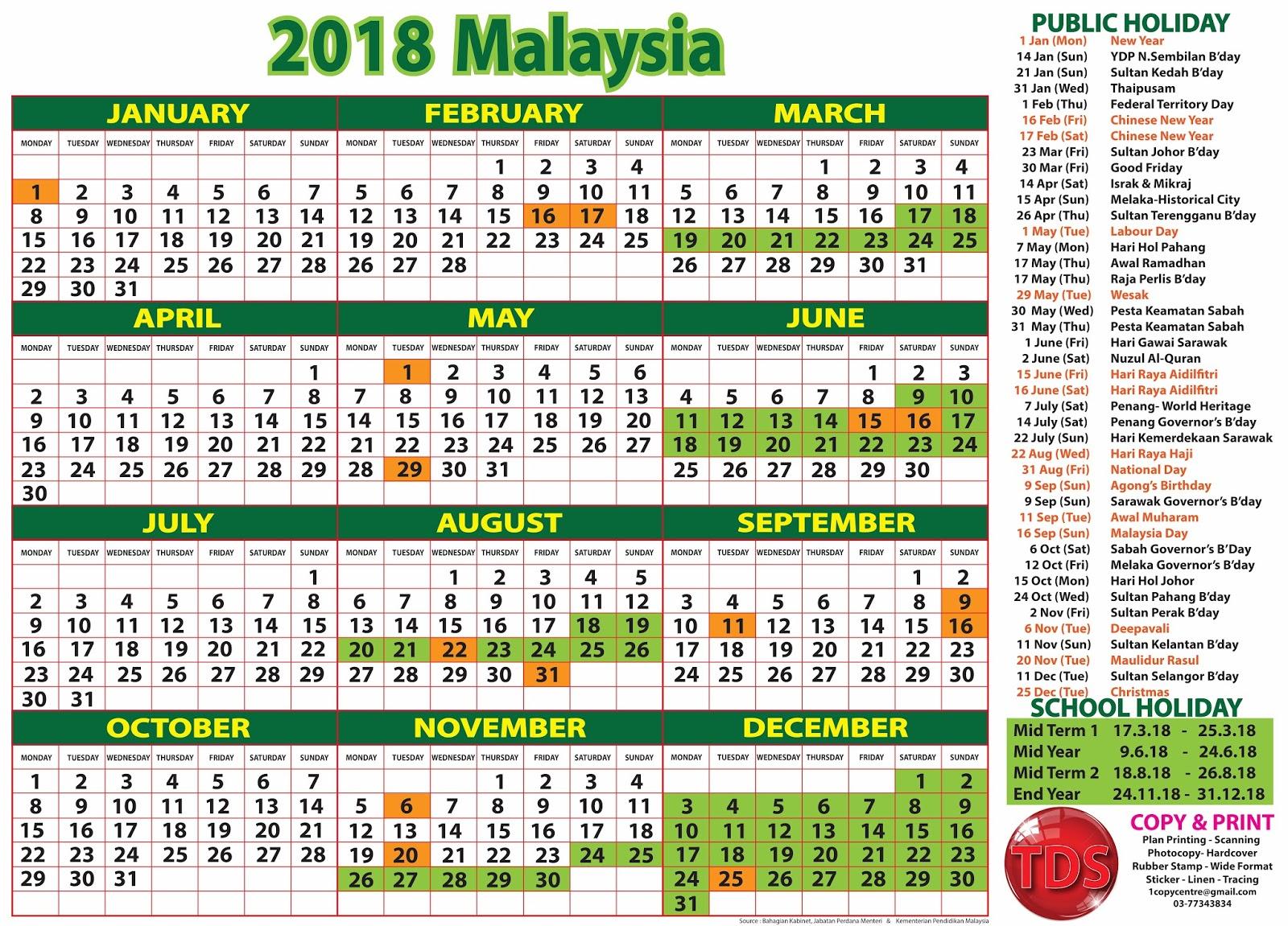 Calendar Kuda : Calendar malaysia kalendar