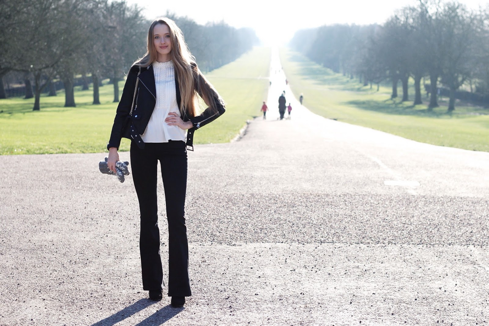 The famous Long Walk in Royal Windsor