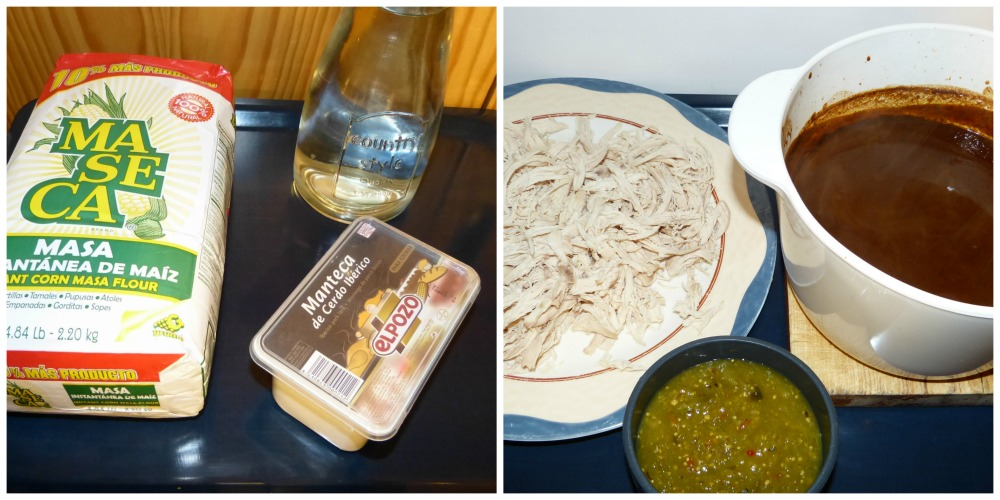 ingredientes tamales