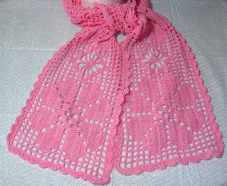 RSS Designs In Fiber - Crochet Scarf