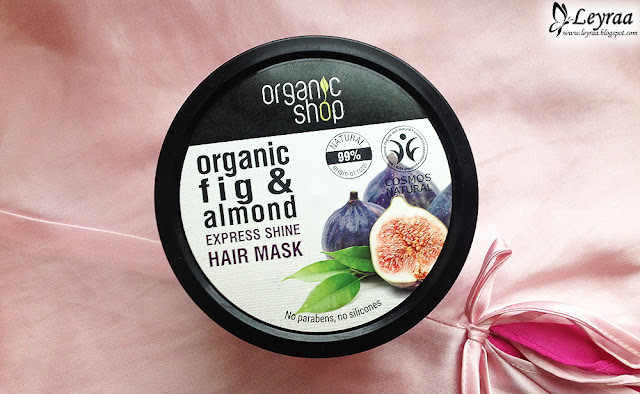 Organic Shop maska do włosów Grecka figa i migdał