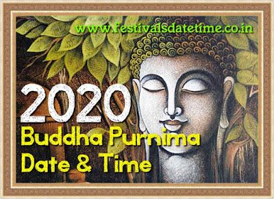 2020 Buddha Purnima Festival Date & Time in India - बुद्ध पूर्णिमा 2020 तिथि और समय - বুদ্ধ পূর্ণিমা ২০২০ তারিখ এবং সময়