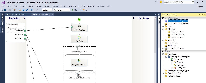 Complete biztalk project to host schema as web service ccuart Images