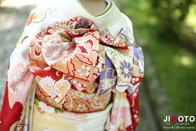 成人式前撮りを京都嵐山で
