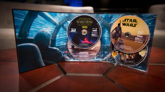 La Edición Coleccionista de 'Star Wars: El Despertar de la Fuerza' en 3D se lanzará en noviembre