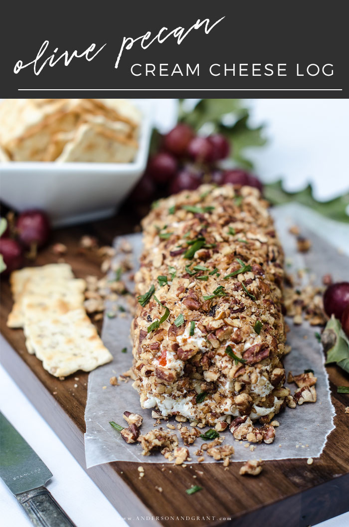 Olive Pecan Cream Cheese Ball