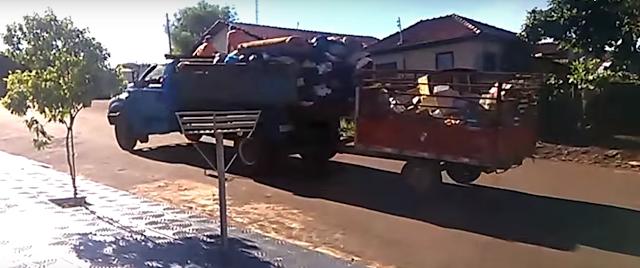 Comunicado da coleta de lixo em Borrazópolis