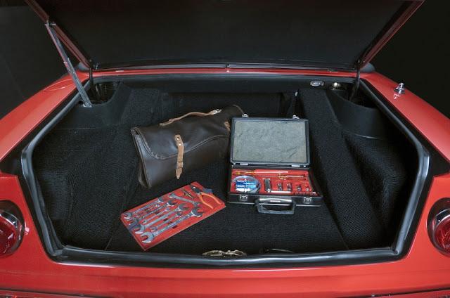 Ferrari Daytona Spyder - Compartimento para el equipaje