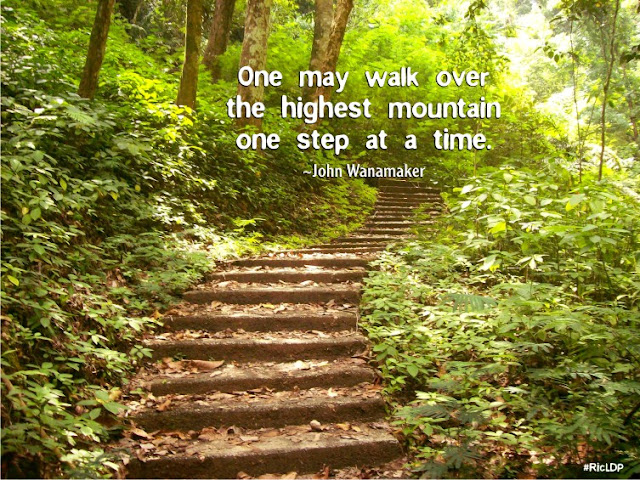 One may walk over  the highest mountain