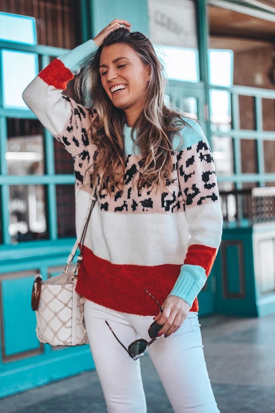 jersey estampado leopardo