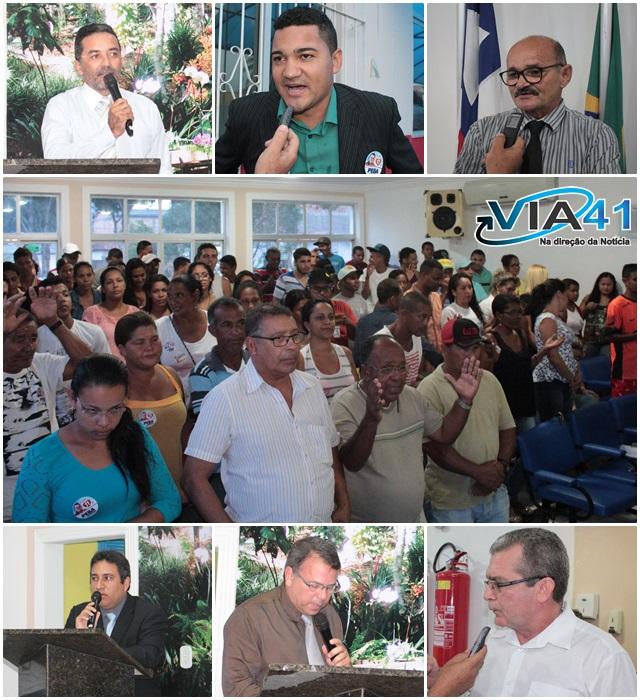 Câmara de Vereadores de Itapebi cassa o prefeito Francisco Brito