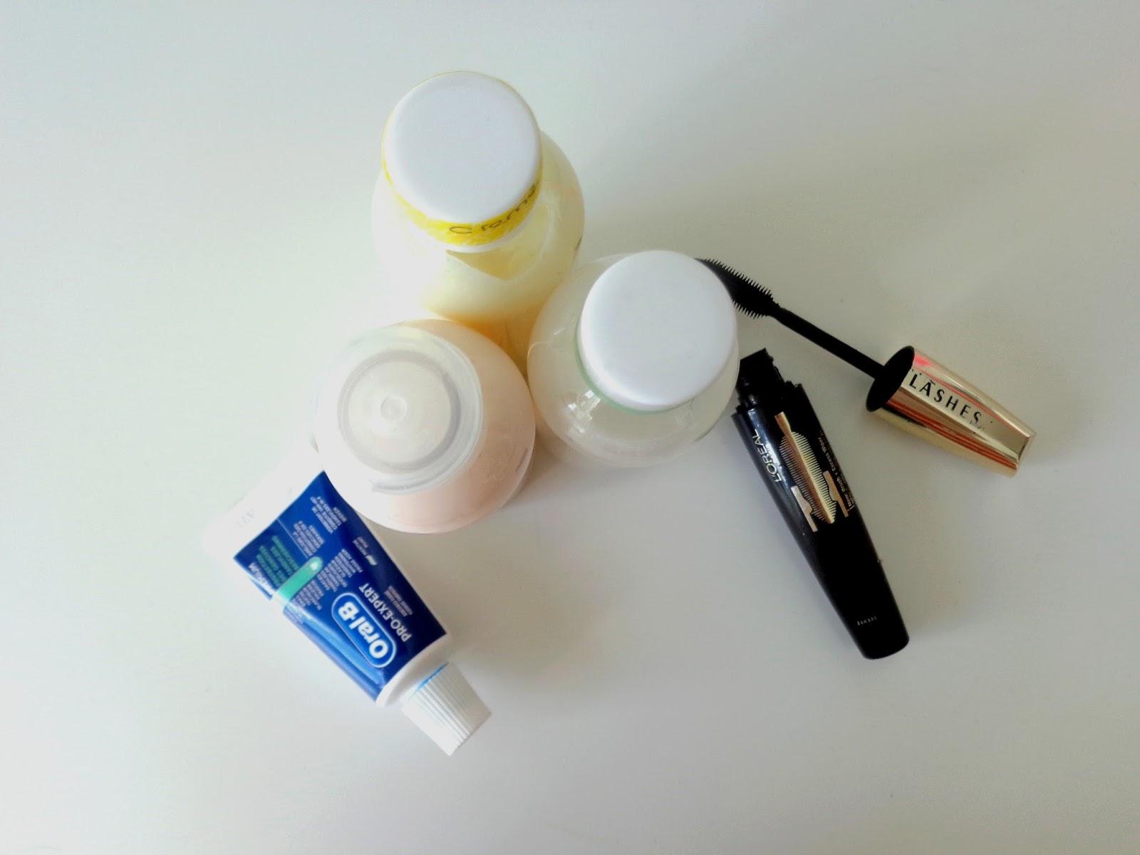 mag je lippenstift meenemen handbagage