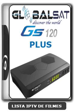 Globalsat GS120 Plus Nova Atualização Melhorias no sistema SKS e IKS V1.56 - 09-06-2020