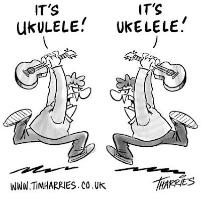 ukulele spelling