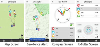 Collier GPS dogtra pathfinder Avis
