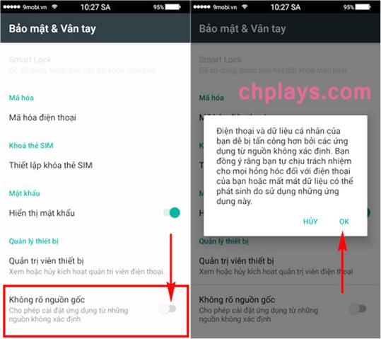 Cập nhật và Cài Cửa Hàng Ch PLay trên bất kỳ máy Samsung Android nào c