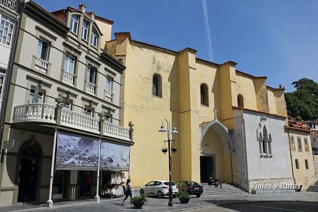 Cudillero, Iglesia de San Pedro